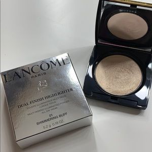 Lamcome Dual Finish Highlighter in Shimmering Buff